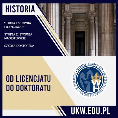 Historia - Od licencjatu do doktoratu