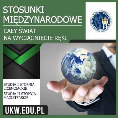 Stosunki międzynarodowe - Cały świat na wyciągnięcie ręki
