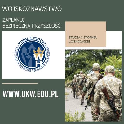 Wojskoznawstwo - studia pierwszego stopnia